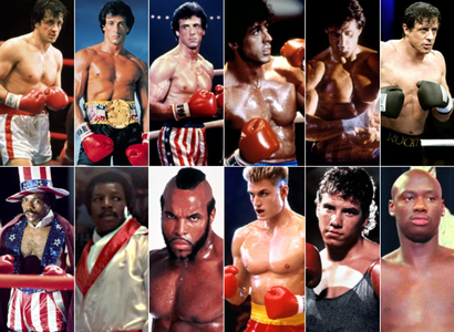 There was Rocky 1, 2, 3, 4 & 5