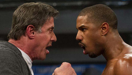 There's a new Rocky film called Creed and it's the 7th film about Apollo's son, Adonis who want's Roc