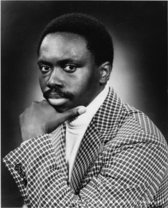 """William DeVaughn, who had a hit with """"Be Thank  For What You Got"""", back in 1974"""