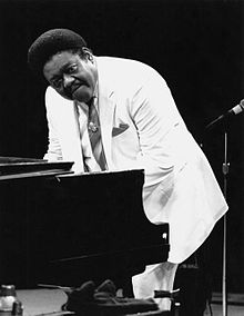 Fats Domino.  Way back classic R and B