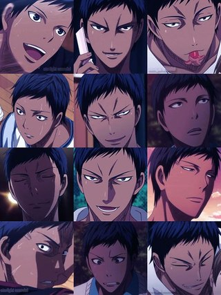 My fave Character is Aomine. There's no other reason He is simply awesome!!!