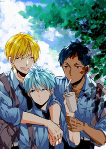 Please let me post lebih than one!!!! ...My most fav 3 from KnB are: Kurokocchi Aominecchi And Kise