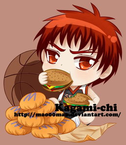 a burger wow my lucky item is making me hungry :) lol