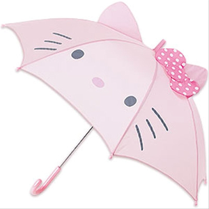 My lucky item is...... a Hello Kitty umbrella! It's really sunny though, should it be used as a para