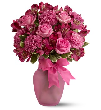 Yay my new item today is a vase of flowers:D