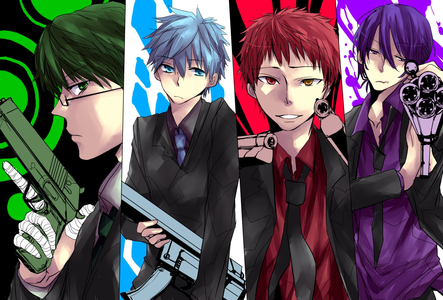 mines is a water gun lolz sorry couldnt find a pic of one soo i posted knb with gun :D Knb justice do