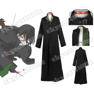 High Quality Custom Made Dark Than Black Cosplay Costumes for Sale. Including Hei jacket, Yin dress
