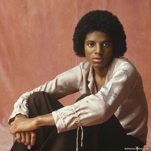 Michael sporting the curly natural in the late '70's