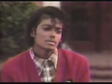 """Michael wearing the Jheri curl in the """"'80's"""""""