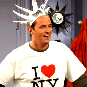 Chandler Bing from Friends:)