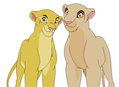 Name: Tau Age: 16 Gender: Female Race: lion Appearance: the one on the right Other Info: Bio: