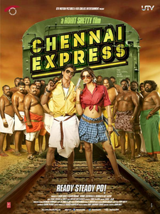 Deepika padukone and SR in Chennai expres