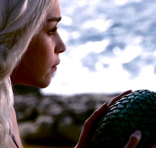 Favorite Female Character - Daenerys on her wedding day