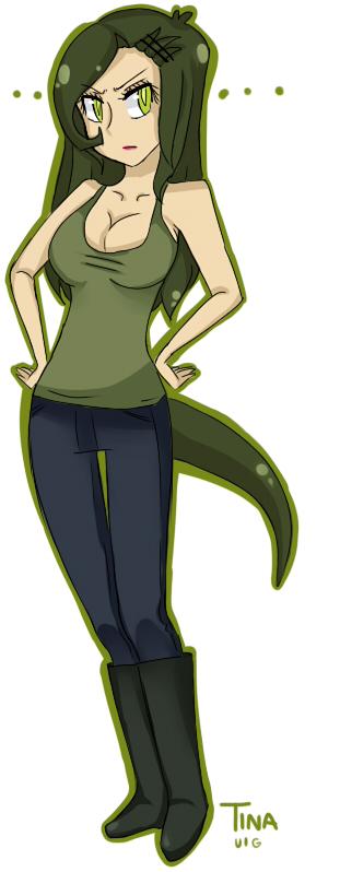 Tina rex human