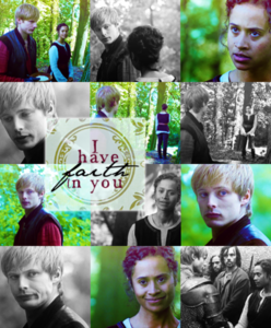 araw 4: My paborito Arwen quote: Arthur: Guinevere! Thank you. You're right. And you were right to