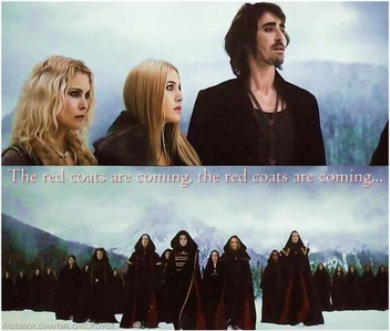 "Garrett,BD 2:"" The RED coats are coming,the RED coats are coming"""