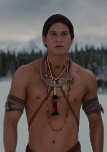 Breaking Dawn pt. 2. Nahuel: Blood, human food. I can survive on either.