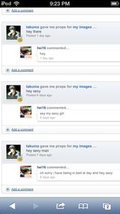 http://www.fanpop.com/fans/takuma http://www.fanpop.com/fans/hei16 These are Naoi's troll accou