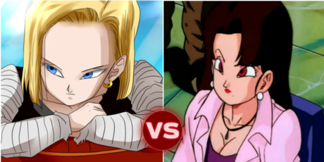 ROUND 3 ANDROID 18 VS NAIN