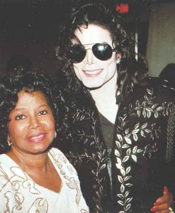 Michael and his mom...