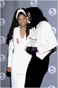Michael with Janet