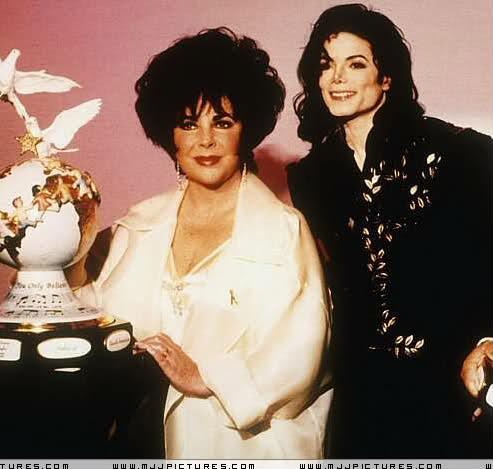 Elizabeth Taylor And Michael Jackson Wedding Michael And Elizabeth Taylor