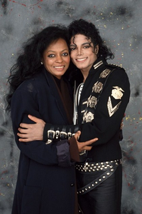 Michael and Diana Ross...