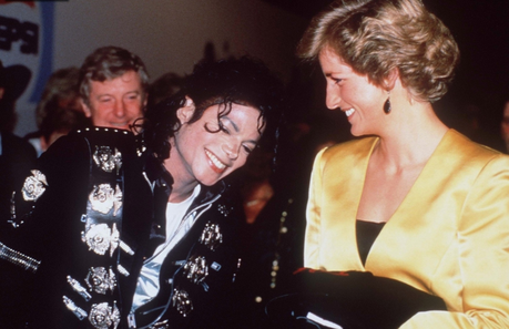 The two most famous persons of the 80's and 90's, Michael and Princess Diana... ♔