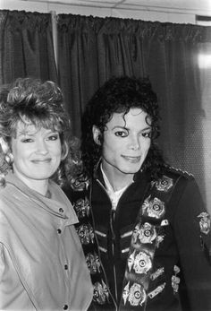 Michael and former ET journalist, Mary Hart