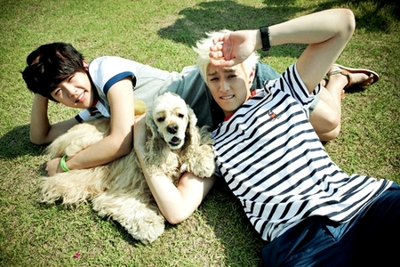 Dongho & Eli <3 <3 <3 Hope this one&#39;s OK sis! :D