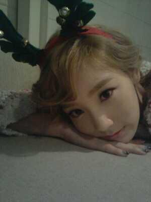 Wow! I&#39;m pretty late here X[  SORRY!!!! X-( anways...here ^-^ Taeyeon <3333
