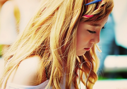 [b] ROUND 1 OPEN~! Post a picture of Kid Leader Taeyeon [/b]