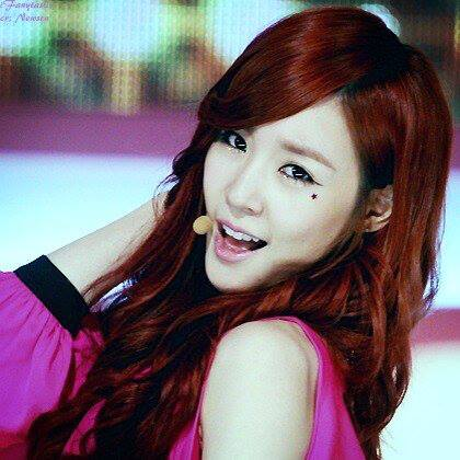 Taeyeon's Wife Hwang Mi Young a.k.a Tiffany Hwang :D I want TaeNy with Sulli