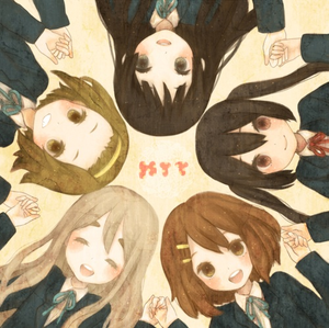 Cute! I give you...9/10!! Here's a new pic of mine! K-on!!