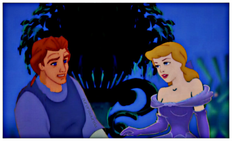 Adam and Cinderella <3<3<3