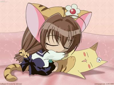 Here's an adorable Taiga girl X3