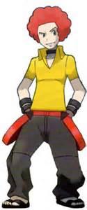 Flint from Pokemon (Pokemon has a lot Im gonna miss a few)
