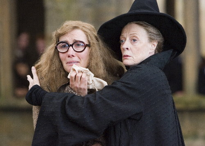 After Umbridge tried to kick her out.