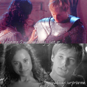 +Best moment: Arthur and Guinevere scene. Slow progress from where they stopped in season 1. There