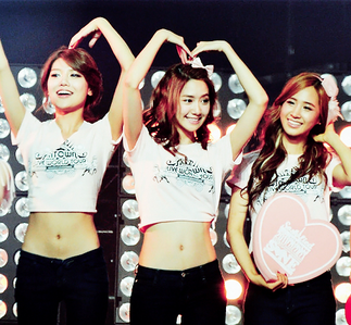 The answer is Sooyoung, Yoona and Yuri (SooYoonYul)!!! winners 1st KaitlynEllie 2nd DawnLove92