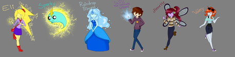 my dummy characters!