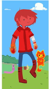 here's the picture's of flynn(i use the character editor)