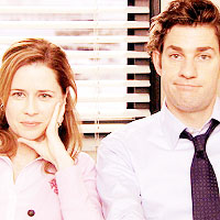 Jim and Pam <333