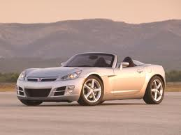 He would have a Saturn Sky. What car would नींबू Drop have?