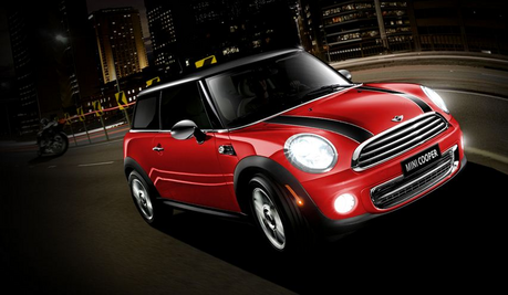Lemon Drop would drive a Mini Cooper S JCW. What about Colgate?