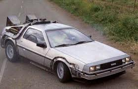 Dr. Whooves would drive the back to the future delorean. What would इंद्रधनुष Dash drive?
