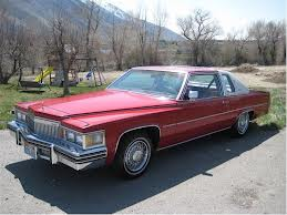 Mrs. Cake would drive a 1979 Coupe De Ville. What would Pound Cake drive?