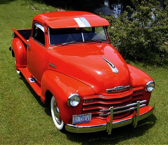 Oh okay. Have fun on your vacation! In the mean time, Carrot hàng đầu, đầu trang would drive a '47 Chevy pickup. When