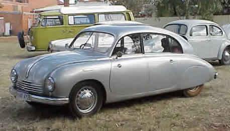 She'd drive a '48 Tatra T-600 Tatraplan. What would Firefly drive?