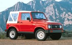 Firefly would drive something that would really make her life danger. The Suzuki Samurai. What car wo